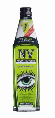 NV Absinthe Verte in a Boston type bottle