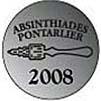 Absinthiades 2008 Silver medal to La Fée 2008
