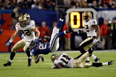Saints Vs Colts Super Bowl final