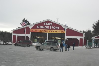 State Liquor Store in New Hampshire