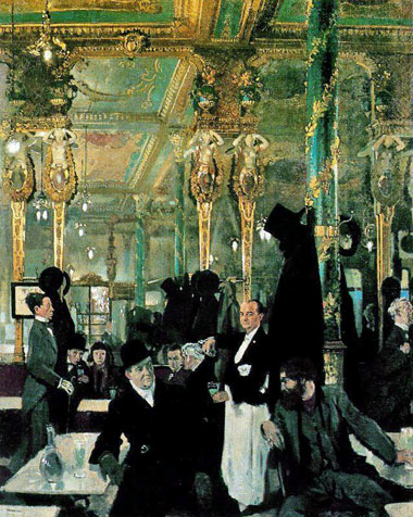 Absinthe Café Royal by Sir William Orpens