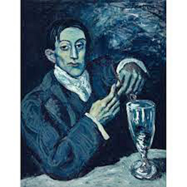 Absinthe Drinker by Picasso