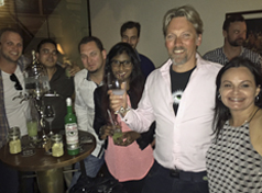 George Rowley at Absinthe master Class in Australia