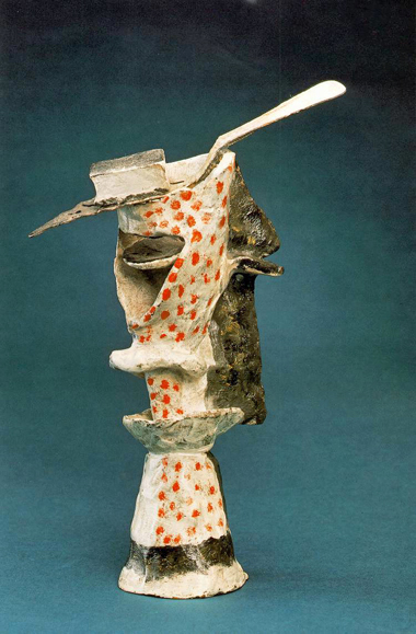 Glass of Absinthe Sculpture by Picasso