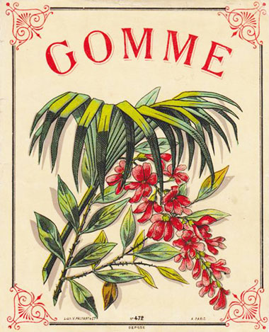 Gomme Poster