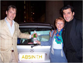 George Rowley, Marie-Claude Delahaye & Jean Cristophe Novelli