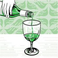 Traditional Absinthe Serve