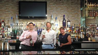 Bar pic of George Rowley at MMI Abu Dhabi