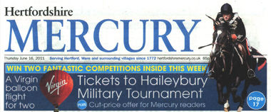 Hertfordshire Mercury Logo