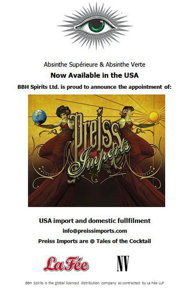 La Fée is Proud to Announce Preiss Imports as our US Importers