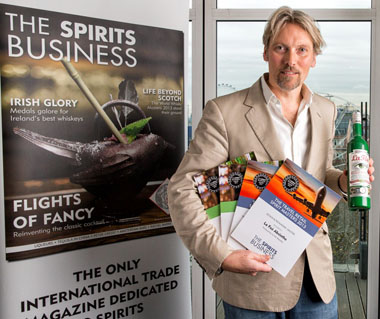 George Rowley at Spirits Award 2013