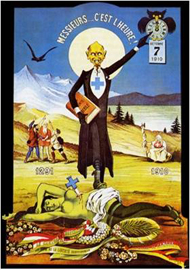 Swiss absinthe ban poster