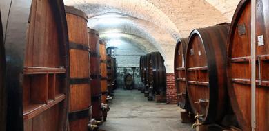 Barrels at Cherry Rocher Distillery