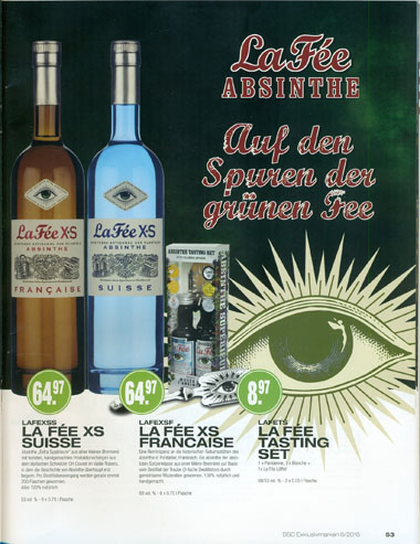 BSC with La Fée absinthe