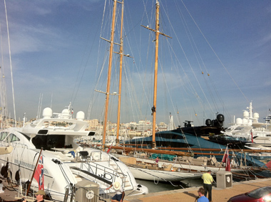 Boats in Cannes