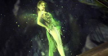 Kylie Minogue as the Green Fairy