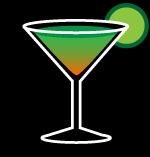 Green Demon cocktail