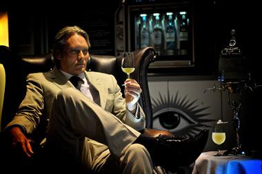 George Rowley at Vinoplolis drink Absinthe