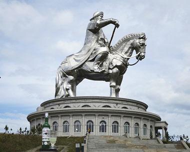 Gengis Khan statue