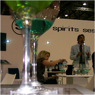 George Rowley of La Fée giving an Absinthe Masterclass