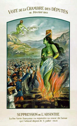 \Suppression of Absinthe poster