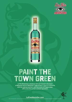 La Fée Bohemian absinthe poster