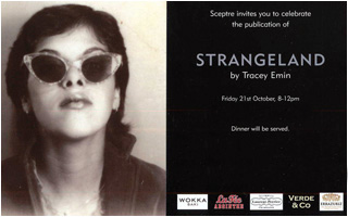 Invite to Strangeland by Tracey Emin