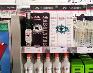 La Fée Absinthe at World Duty Free
