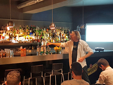 Absinthe Master class in Lisbon with Luxardo