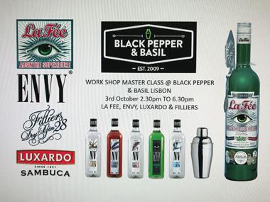 Black pepper & Basil Bar Training with La Fée