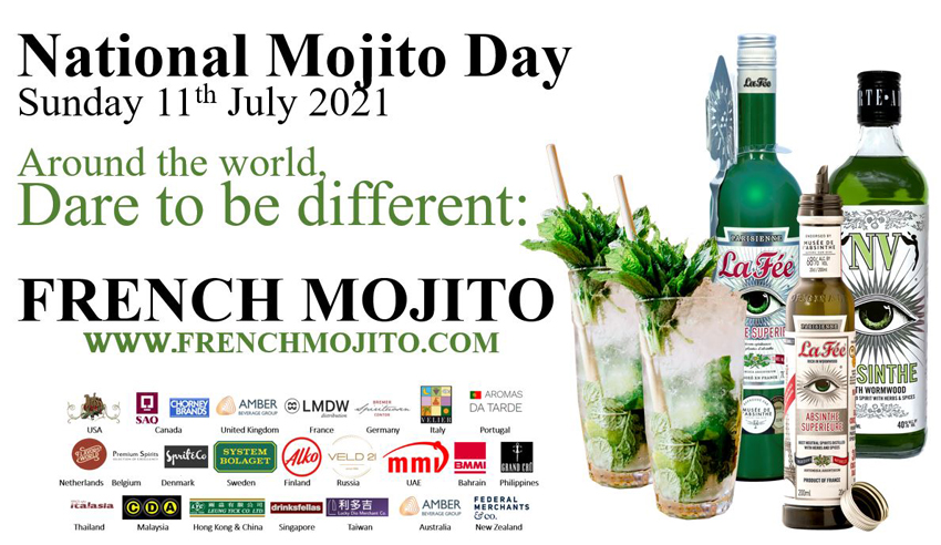 Dare to be different: FRENCH MOJITO